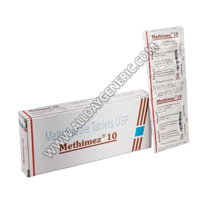Methimez 10 mg, Methimazole 10 mg, Methimazole Uses
