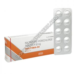 Naltima 50 mg Tablet(Naltrexone)