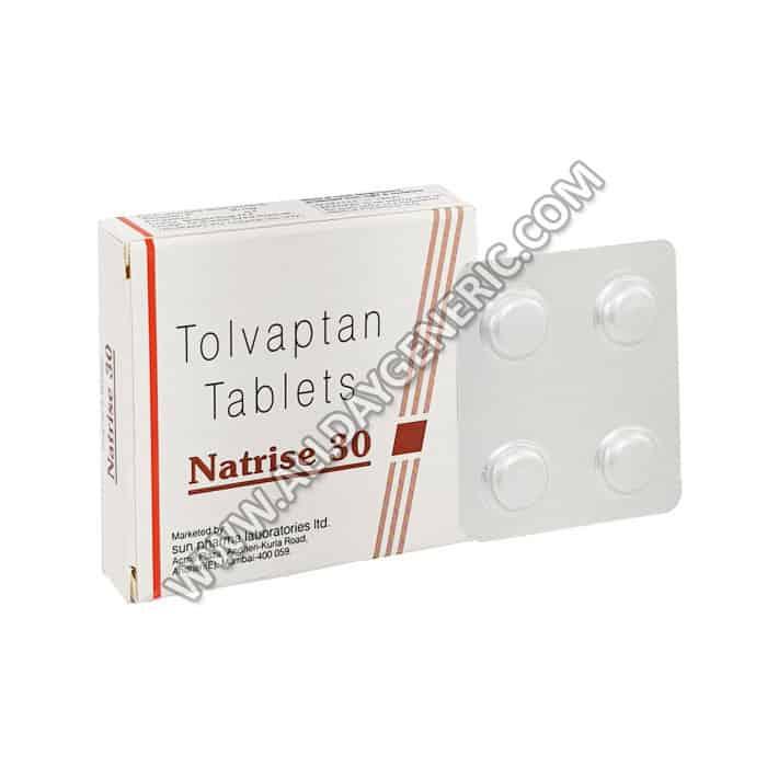 Natrise 30 mg Tablet(Tolvaptan)