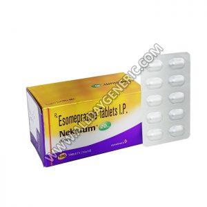 Neksium 20 mg, Esomeprazole, esomeprazole 20 mg, Esomeprazole Generic