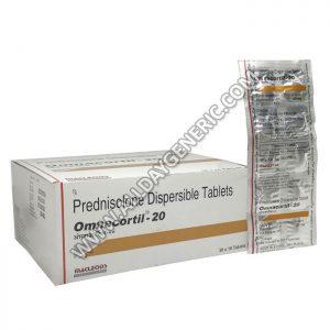 Prednisolone 20mg | Omnacortil 20 (Prednisolone)