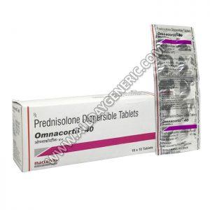 Prednisolone 40 mg | Omnacortil 40 (Prednisolone)