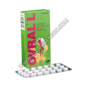Ovral L Tablet(Ethinyl Estradiol / Levonorgestrel)