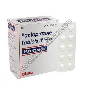 Pantosec 40 mg Tablet, Pantoprazole, pantoprazol 40 mg