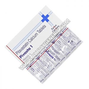 Pivasta 1 mg Tablet(Pitavastatin)