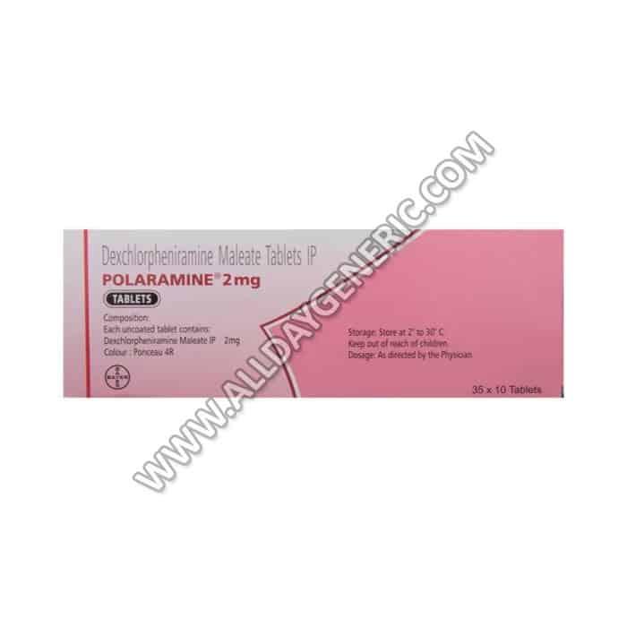Polaramine (Dexchlorpheniramine 2mg)