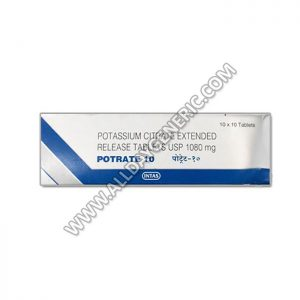 Potrate 10 Tablet(Potassium Citrate)