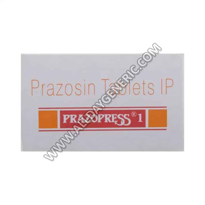 Prazopress 1mg, Prazosin 1 mg Tablets