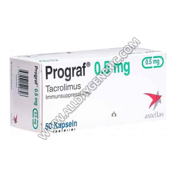 Prograf 0.5 mg Capsule(Tacrolimus)