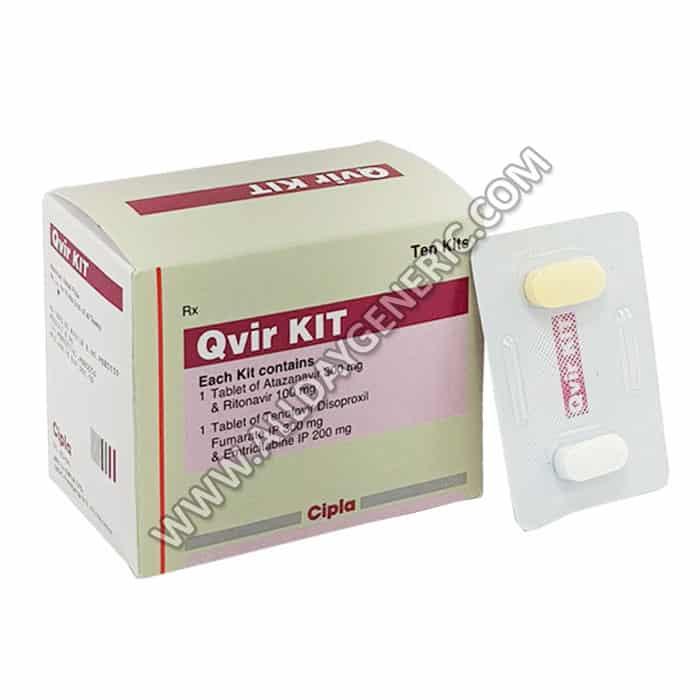 Qvir Kit (Atazanavir / Ritonavir / Tenofovir / Emtricitabine)