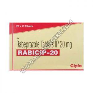 Rabicip 20 mg Tablet, Rabeprazole, rabeprazole 20 mg, Rabicip