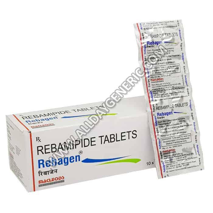 Rebagen 100 (Rebamipide)
