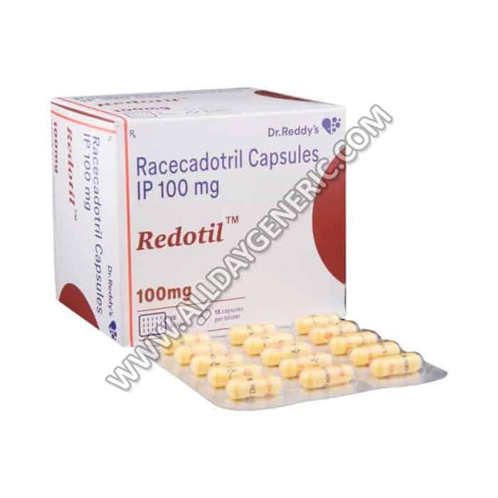 Redotil 100 mg Capsules(Racecadotril)