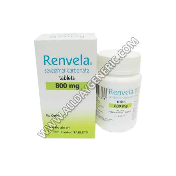 Renvela 800 mg Tablet(Sevelamer)
