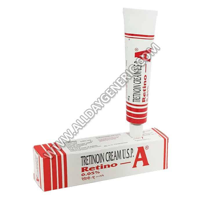 Retino A 0.05% Cream, Tretinoin Cream, Retino A