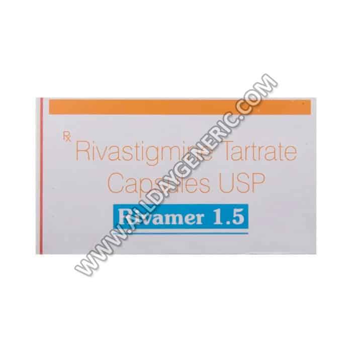Rivamer 1.5 mg Tablet(Rivastigmine)