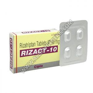 Rizact 10 mg (Rizatriptan)