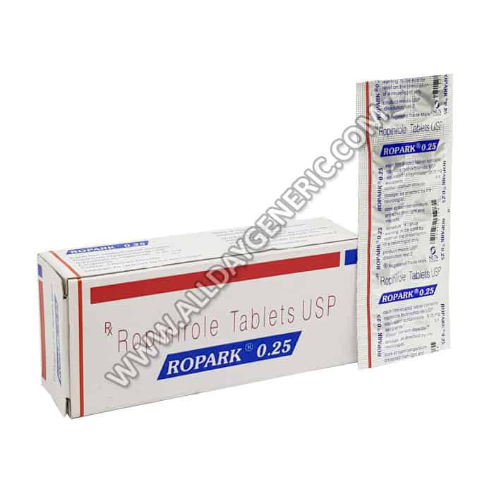 Ropark 0.25 mg (Ropinirole)