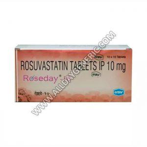 Roseday 10 mg (Rosuvastatin)