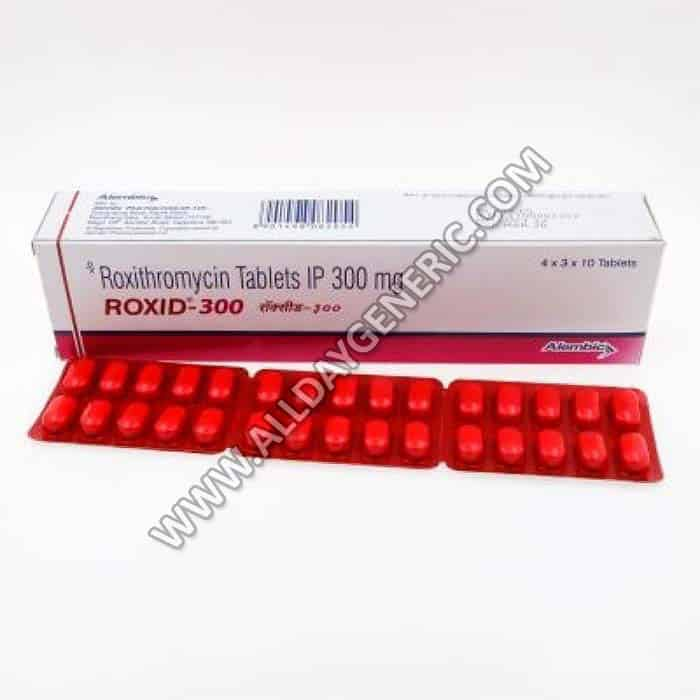 Roxid 300 mg Tablet(Roxithromycin)