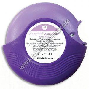 Seretide 50mcg/100mcg Accuhaler, Salmeterol Fluticasone propionate
