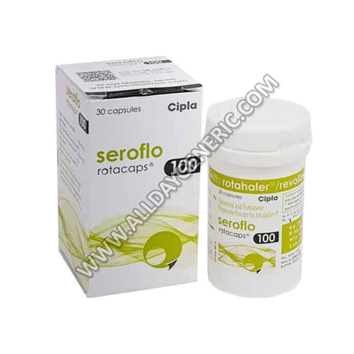 Seroflo 100 Rotacap (Fluticasone Salmeterol)