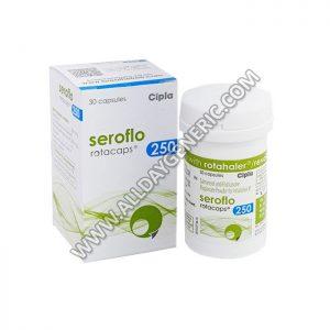 Seroflo 250 Rotacap, Salmeterol / Fluticasone propionate