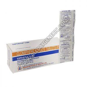Siphene 100 mg (Clomiphene)