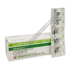 Siphene 50 mg, Clomiphene 50mg, Infertility Tablets