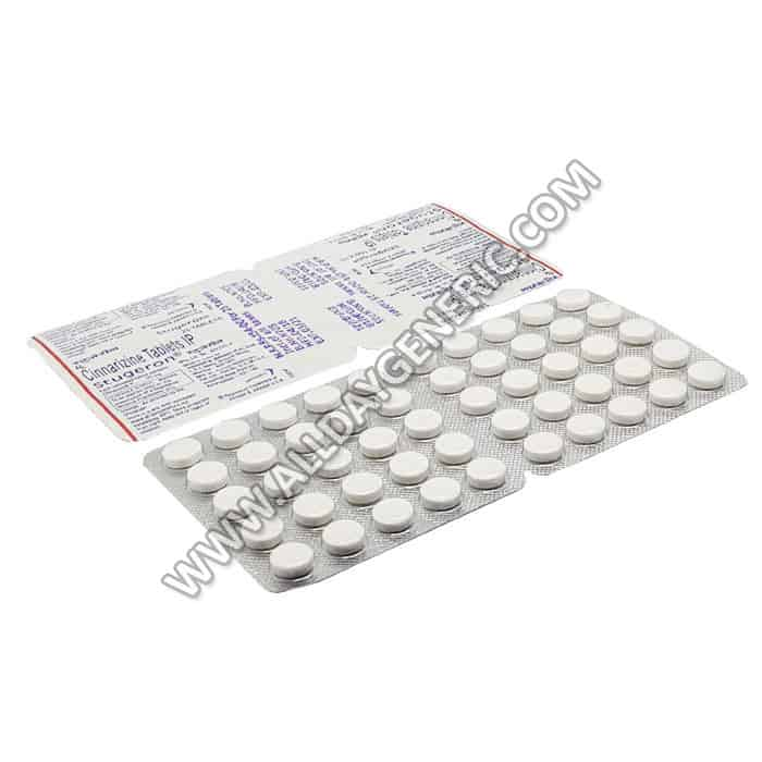 Stugeron 25mg (Cinnarizine)