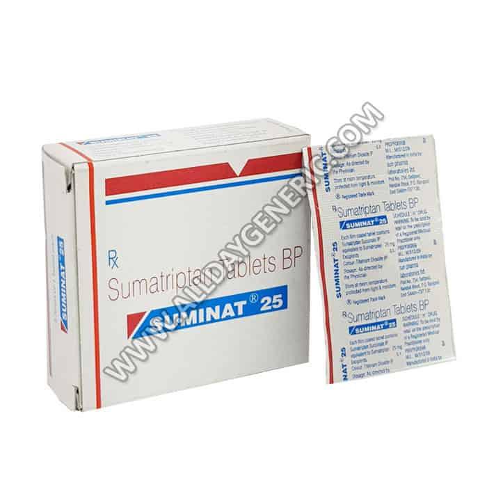 Suminat 25 mg (Sumatriptan)