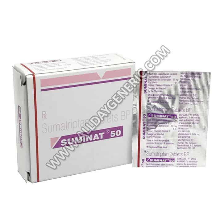 Suminat 50 mg (Sumatriptan)
