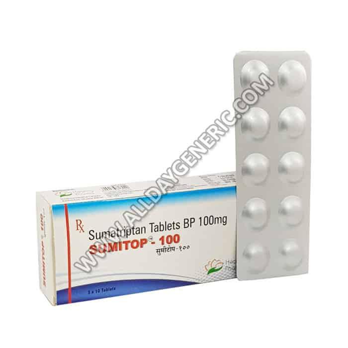Sumitop 100 mg (Sumatriptan)