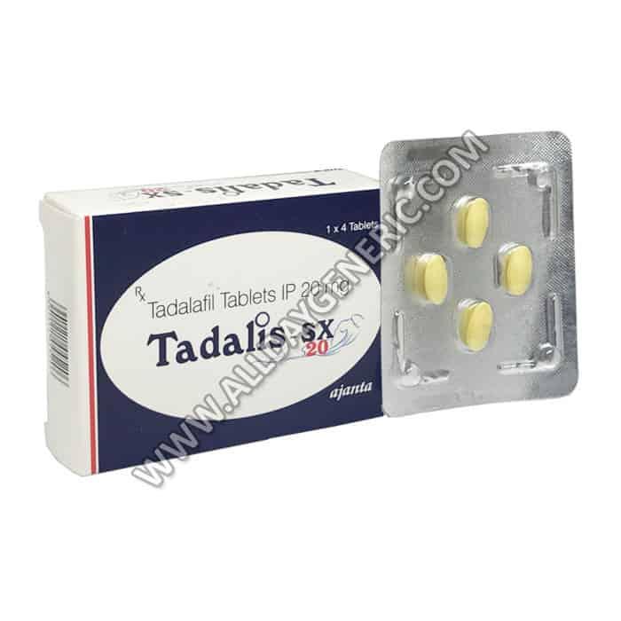 Tadalis SX (Tadalafil Tablets), Generic Tadalafil 20mg