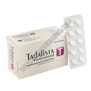 Tadalista Professional, tadalafil generic, Tadalista