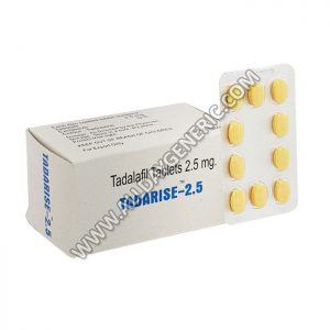 buy tadalafil online, tadarise, Tadarise 2.5 mg Tablet