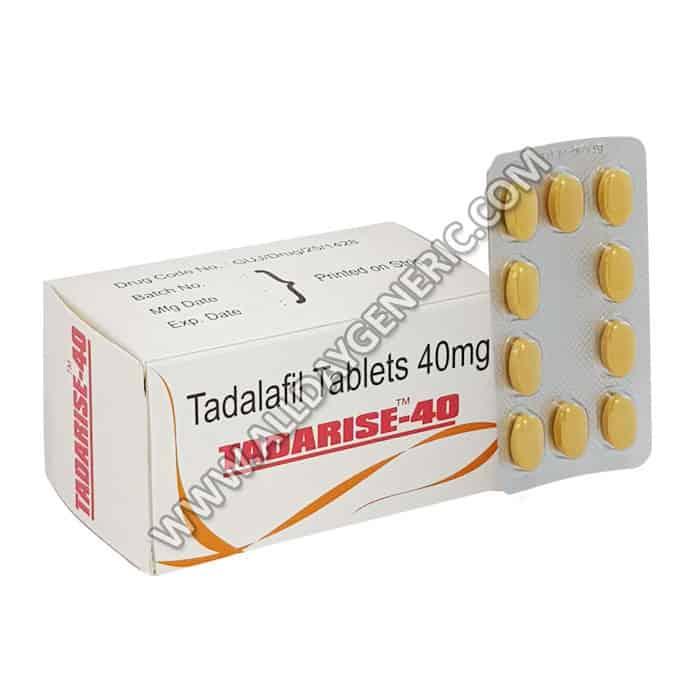 tadalafil 40 mg, tadarise 40 mg, Tadarise 40