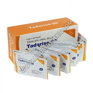 Tadarise 20 oral jelly (Tadalafil 20mg)ED Pills online