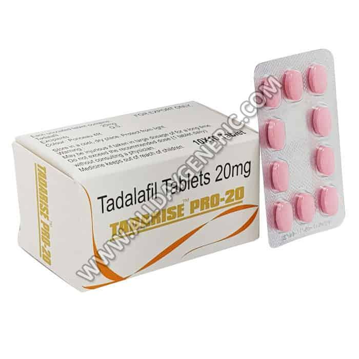 tadalafil 20 mg, tadarise pro 20 dosage, Tadarise Pro 20