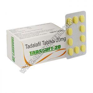 tadalafil 20mg, tadalafil 20 mg tablets, Tadasoft 20 mg Tablet