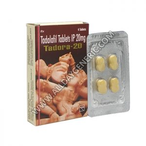 Tadora 20 mg (Cheap Tadalafil) Tadalafil 20mg
