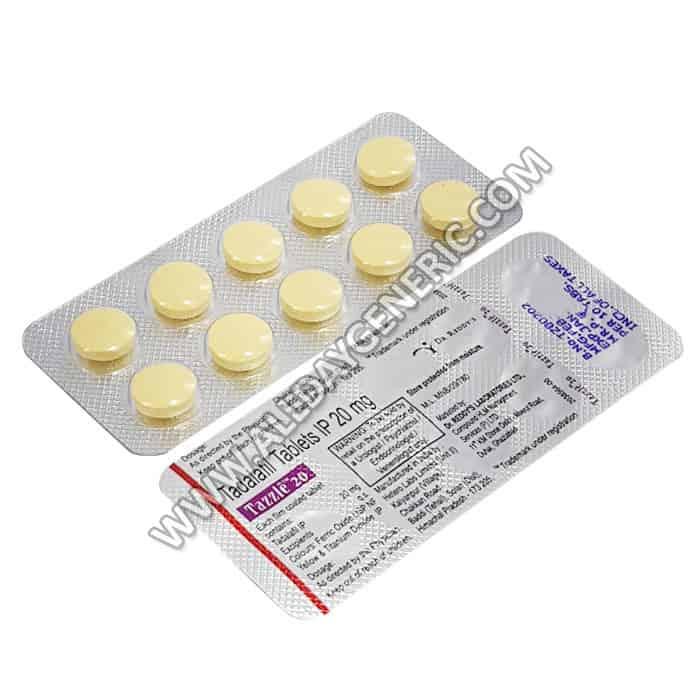 Tazzle 20 mg(Generic Tadalafil Tablets) Tadalafil Pills