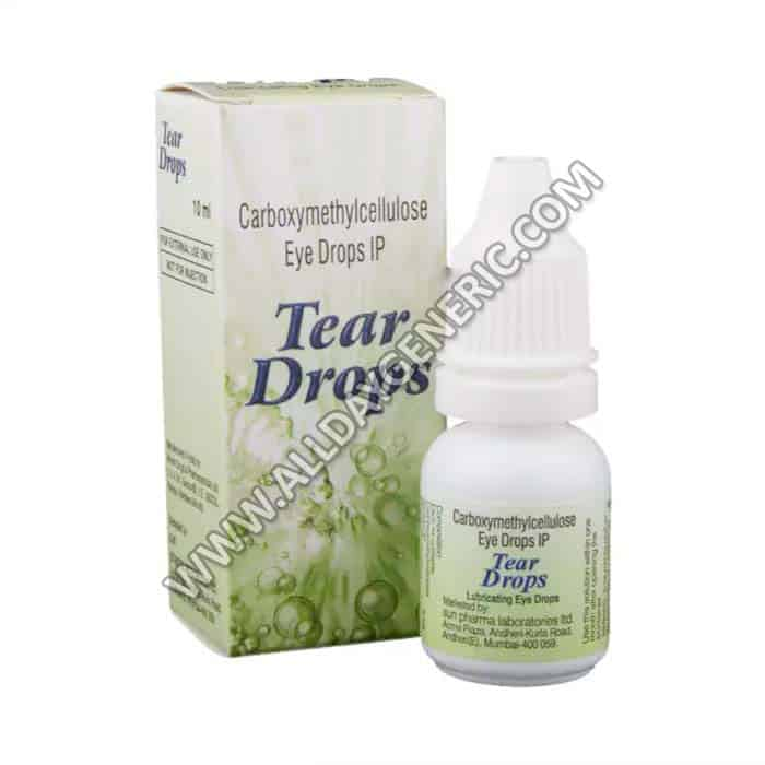 Carboxymethylcellulose sodium (Tear eye drops)