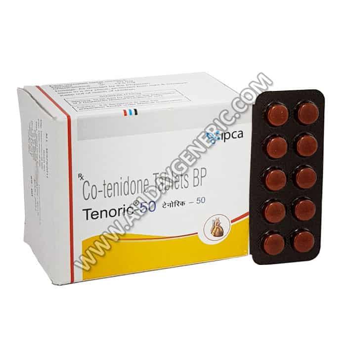 Tenoric 50 Tablet, Atenolol Chlorthalidone