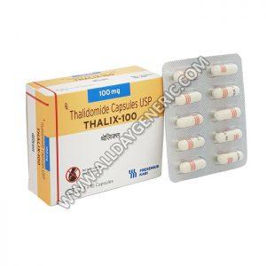 Thalix 100 mg, Thalidomide) drug
