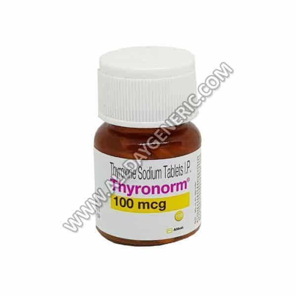 Levothyroxin Thyroxine Thyronorm 100 Mcg Doses Uses Precautions