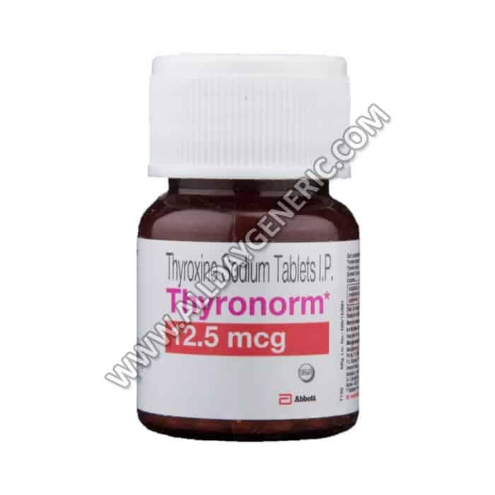 Thyronorm 12.5 mcg Tablet(Thyroxine / Levothyroxine)
