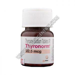 Thyronorm 62.5 mcg (Thyroxine Levothyroxine)