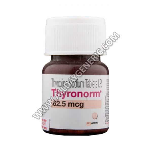 thyronorm-62.5-mcg-tablet